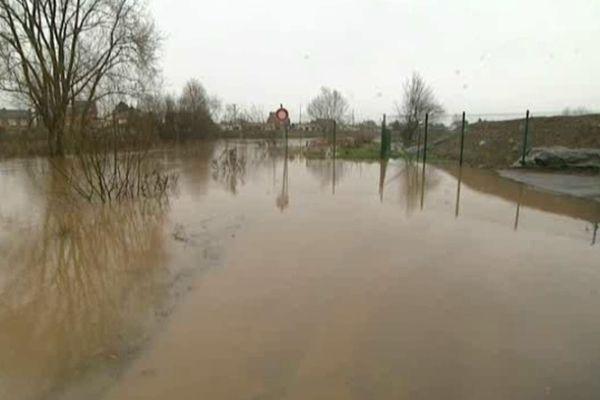 Les rues de Merville ont déjà été inondées à plusieurs reprises ces derniers mois