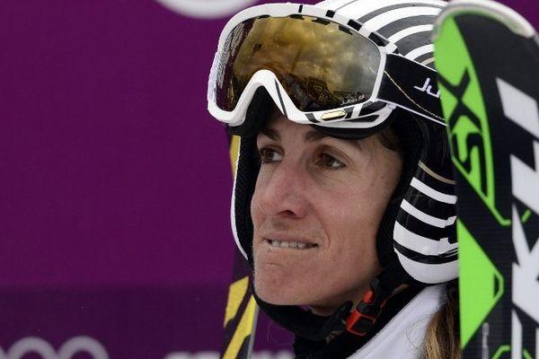 Ophélie David, 4ème en ski cross aux JO de Sotchi.