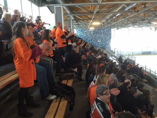 Une belle ambiance à l'Alp'Arena, 3000 spectateurs s'étaient déplacés pour soutenir leurs champions.
