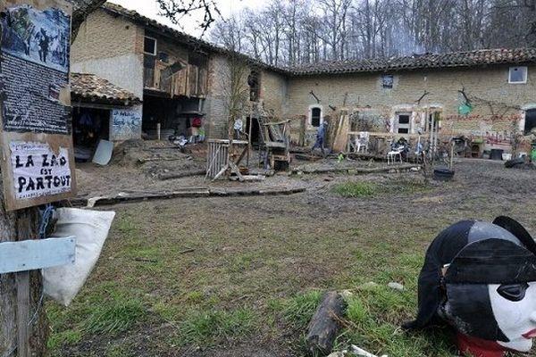 La ZAD (pour zone à défendre) de Sivens est toujours occupée par une cinquantaine de militants.