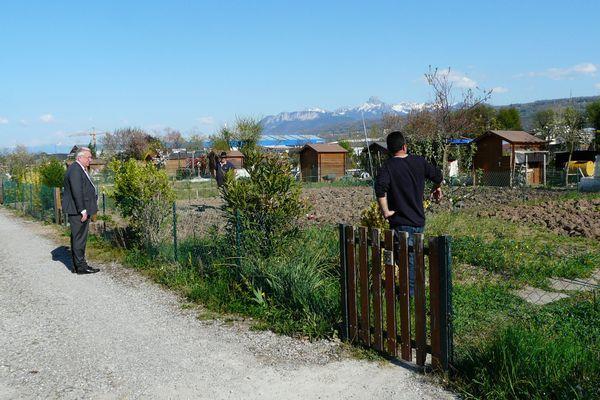 Les jardins familiaux de Thonon-les-Bains sont ouverts pendant le confinement. (Illustration)
