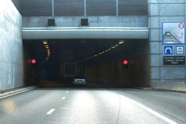 Le tunnel de l'A11 à Avrillé sera fermé durant 3 nuits pour des travaux d'entretien de 19h30 à 6h le lendemain