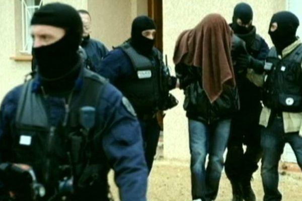 Abdelkader Merah lors de son arrestation.
