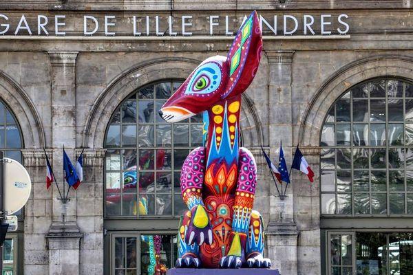 Les sculptures monumentales d'Alebrijes dans le centre-ville de Lille