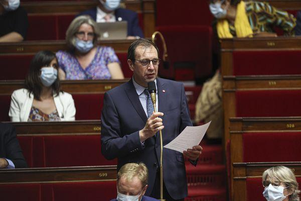 François Jolivet, député LREM de l'Indre, à l'Assemblée nationale.