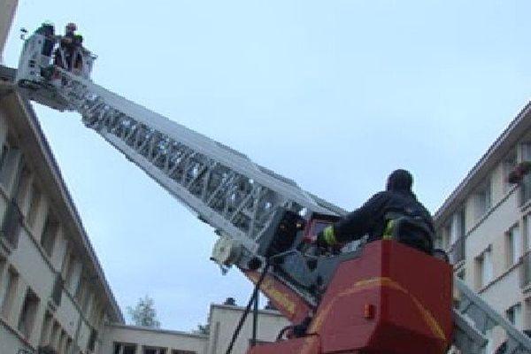 L'incendie s'est déclenché au 37 rue de Nexon à Limoges