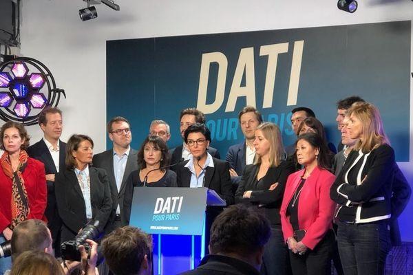 Rachida Dati, candidate LR à la mairie de Paris présente son programme