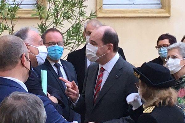 Le Premier ministre Jean Castex à Mont-de-Marsan