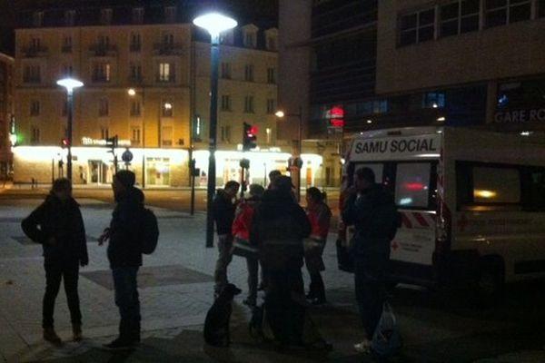 Ce soir-là, 34 personnes ont bénéficié des soins de la Croix Rouge dans le centre-ville de Rennes