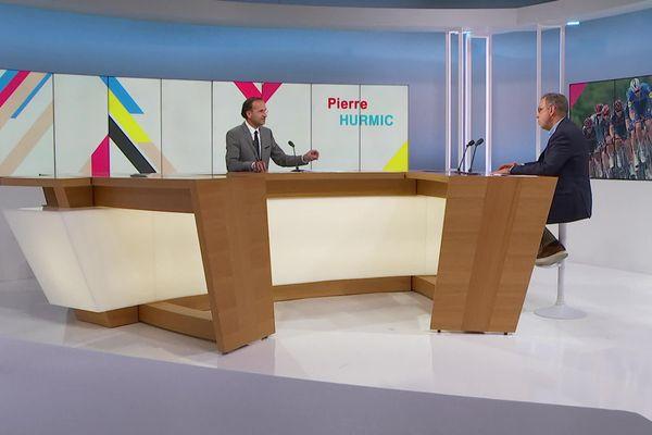 Le maire de Bordeaux sera l'invité de Franck Omer dans l'émission Dimanche en politique diffusée à 11h30 le 19 septembre sur France 3 Aquitaine