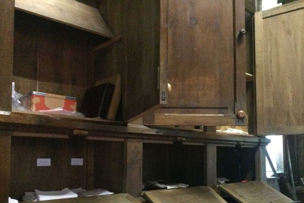 La sacristie de l'église de Plélo a été cambriolée. Différents objets liturgiques y ont été volés.