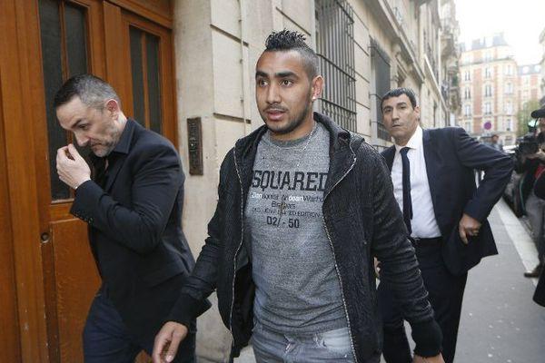 Dimitri Payet se rendant devant la commission de discipline de la ligue de football professionnelle à Paris, le 9 avril dernier.
