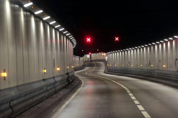 Illustration - Tunnel de la Major à marseille fermé