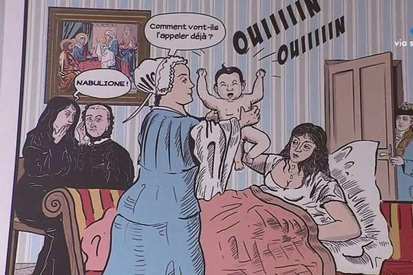 Casa Bonaparte, l'enfance de Napoléon, bande dessinée signée Charles Cianfarani