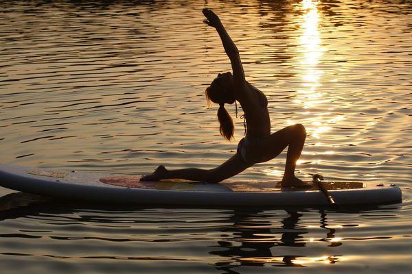 Le yoga paddle... pour être zen !