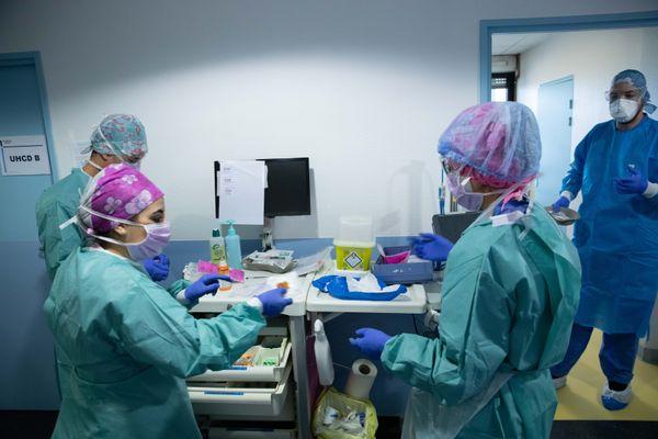 Depuis plus d'un an, le personnel soignant est en première ligne pour lutter contre la pandémie. Photo d'illustration