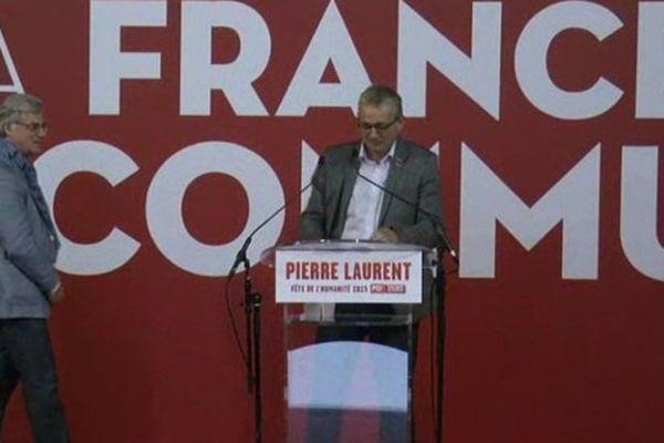 Pierre Laurent, président du parti communiste se pose en candidat naturel pour représenter le front de gauche aux élections régionales.
