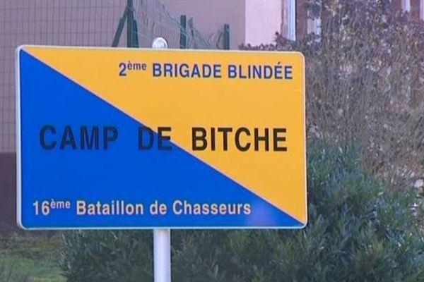 La caserne de Bitche.