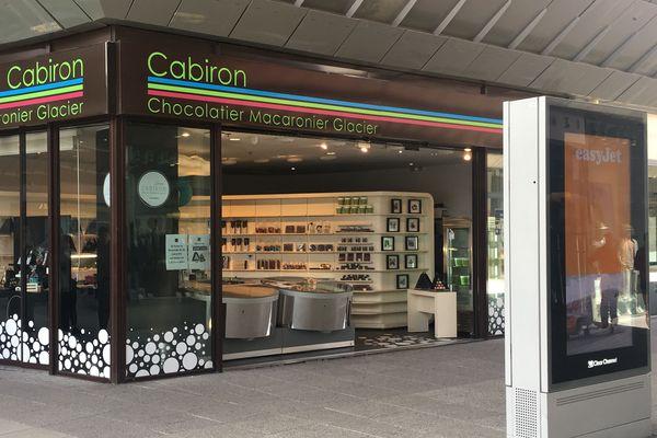 La boutique de Cabiron au centre commercial Odysseum ferme ses portes aujourd'hui.