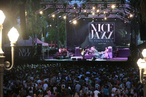 Une des scènes du Nice Jazz Festival (archives).