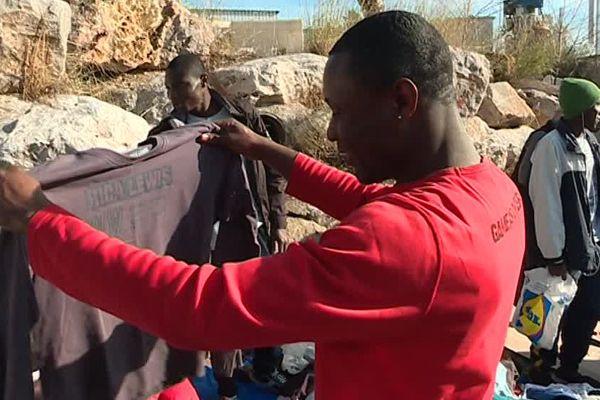 L'association Collectif Migrants Bienvenue 34 vient en aide aux migrants.