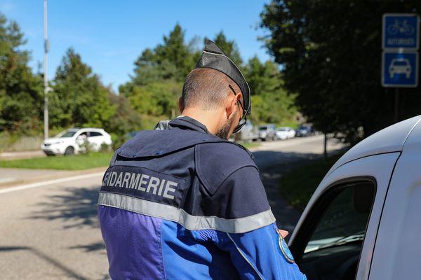 Les gendarmes, comme ici à Annecy, vont procéder à des contrôles réguliers.