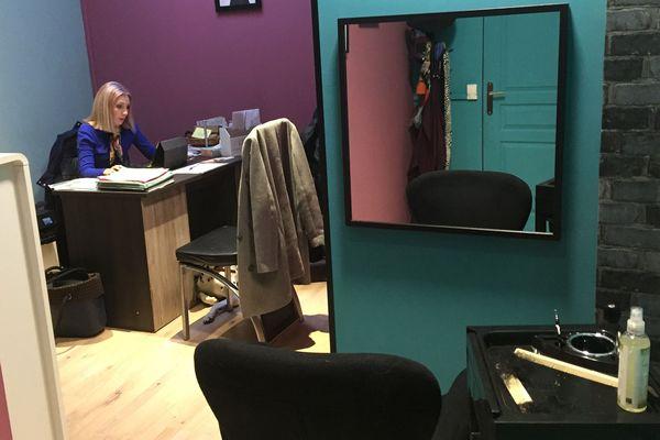L'espace créé par Helen pour accueillir les femmes atteintes d'un cancer.