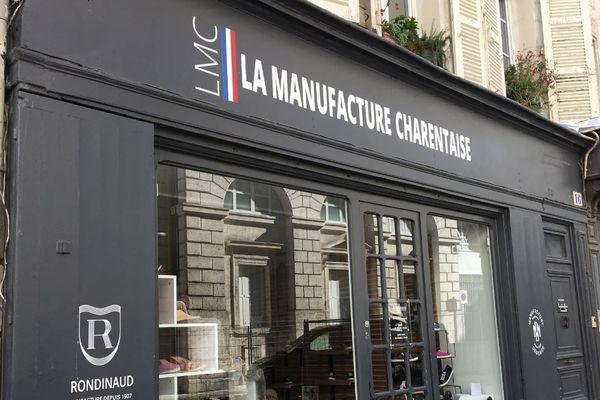 La boutique de La Manufacture Charentaise a ouvert récemment à Angoulême.