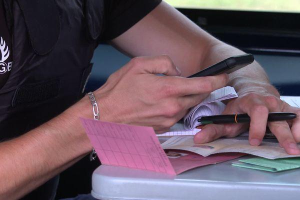 Dans les Landes, on a enregistré 135 suspensions de permis au mois d'août 2021.