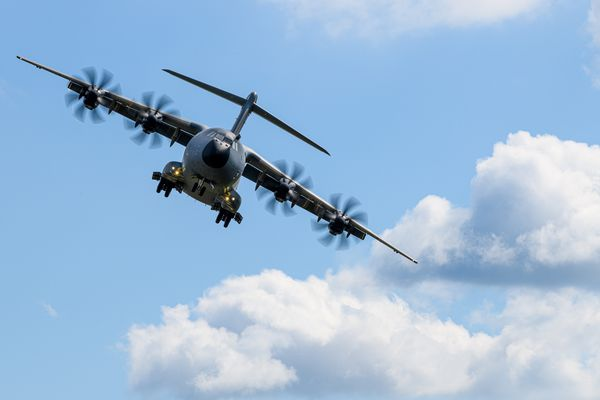 L'A400M est un avion de transport militaire