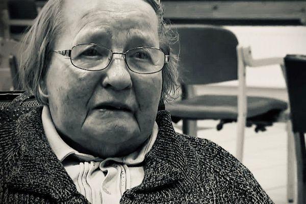 Jeanine Nicolas, résidente de l'Ehpad de la Maison Saint-Martin de Reims