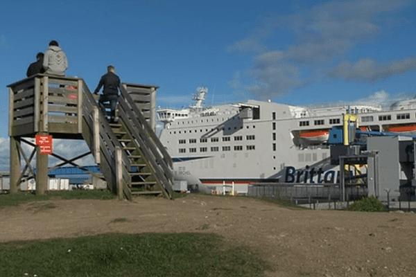 Depuis le debut de l'année, le terminal ferry connait une augmentation des tentatives de passage des migrants.