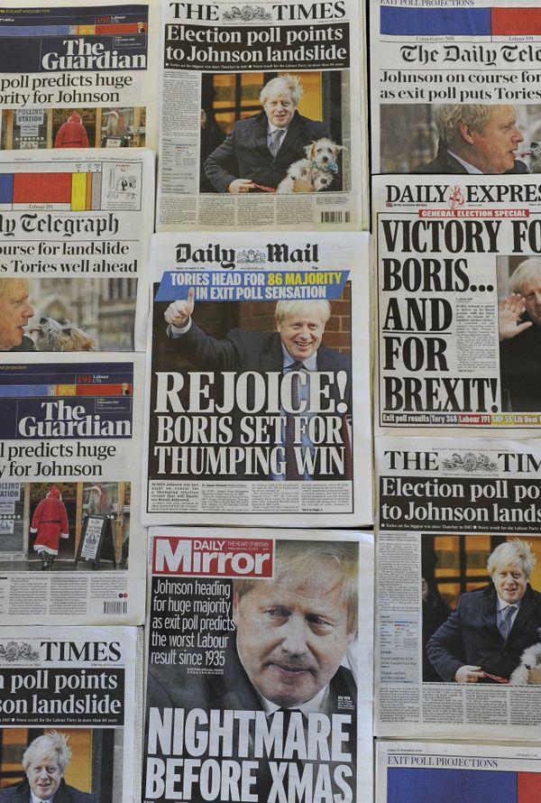 Quelques unes des journaux anglais ce vendredi matin