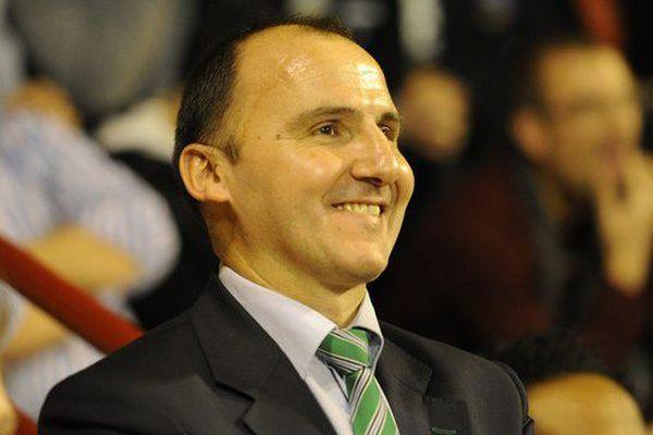 Frédéric Forte était président du Limoges CSP depuis 2004.