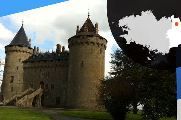 Le château de Combourg ou François-René de Chateaubriand a grandi