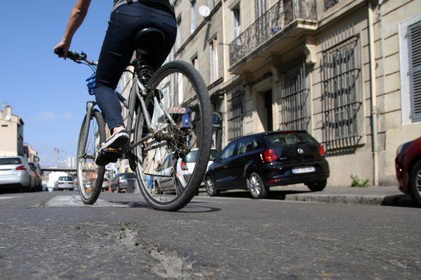 Les aménagements pour les cyclistes manquent en PACA.