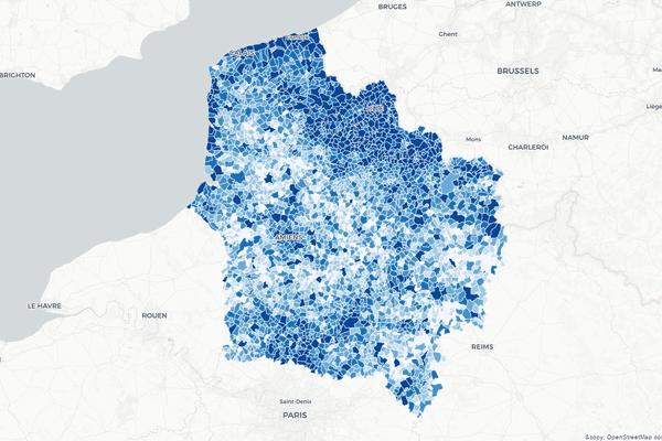 L'Insee a dévoilé ce mercredi le nombre d'habitants de chaque commune française en 2015.