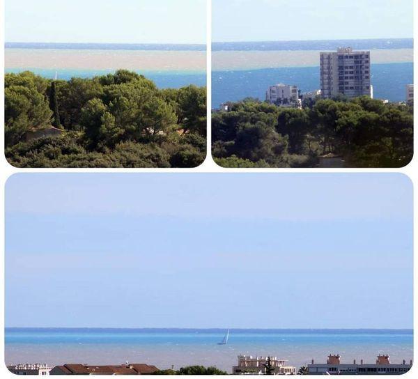 La mer Méditerranée boueuse depuis ce samedi.