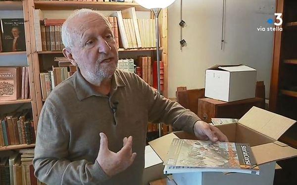 L'éditeur Alain Piazzola