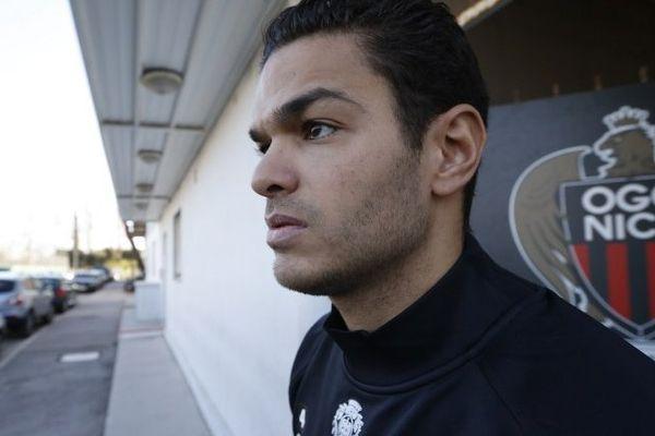 L'ancien milieu de Newcastle Hatem Ben Arfa, engagé libre lundi dernier pour 18 mois par Nice.