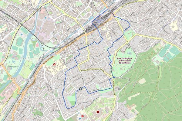 L'itinéraire du circuit Rebberg fait une boucle d'un peu moins de 7 km.