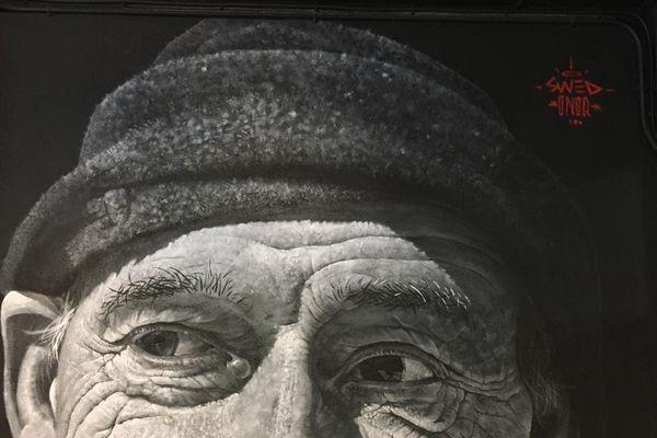 Extrait d'un portrait réalisé par l'artiste Swed Oner.