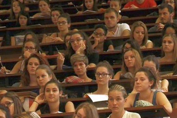 Montpellier - Les nouveaux étudiants sont nombreux à assister à cette pré-rentrée. 3 septembre 2015.