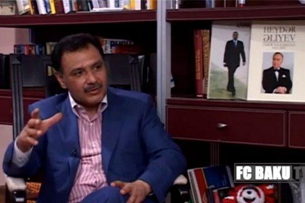 Hafiz Mammadov, président du Baghlan Group et du FC Baku en Azerbaïdjan.