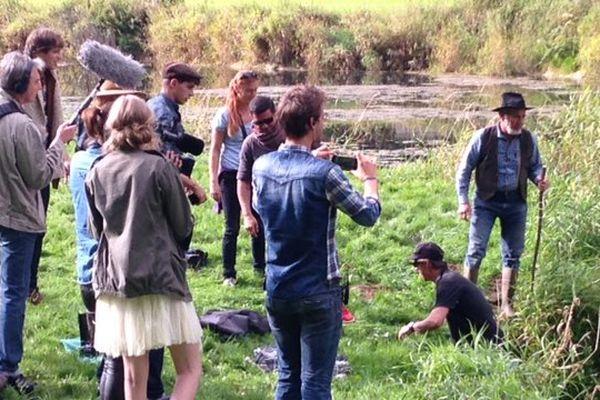 Dernier jour de tournage pour Lilian Renaud à Grand Combe Chateleu