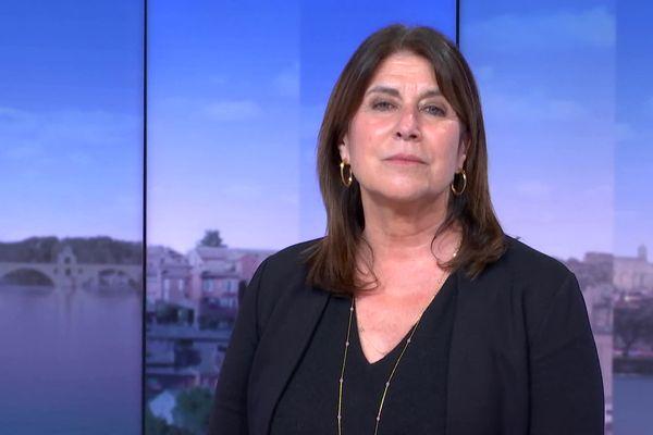 Michèle Rubirola, le 15 mars 2021 sur le plateau du 19/20 de France 3 Provences Alpes