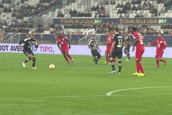 Dijon s'est incliné 2-0 face à Bordeaux.
