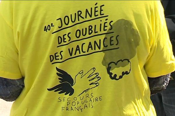Tee shirt des Journées des Oubliés des Vacances