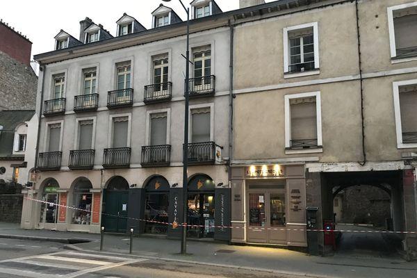 Immeuble évacué du 30-323 rue Saint-Hélier à Rennes