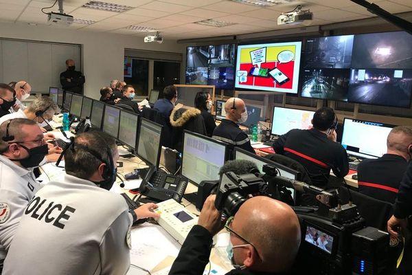 La vidéo-surveillance joue un grand rôle dans le dispositif de sécurité mis en place pour prévenir d'éventuels débordements durant la soirée du Nouvel An